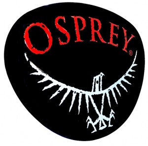 Osprey metal sign
