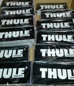 Thule stickers bagged