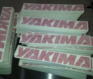 eric wiltfong - Yakima die cut stickers